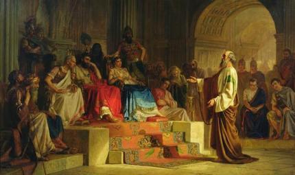 Paul Painting before Agrippa Nikolai_Bodarevsky_001