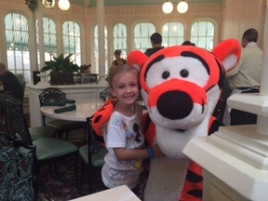 Anna and Tiger